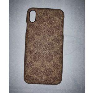 COACH iPhone Xs Max case